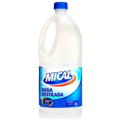 Agua Destilada 2L Mical