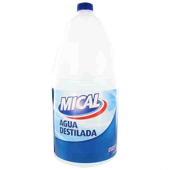 Agua Destilada 5L Mical
