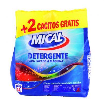 Detergente lavado a máquina Mical