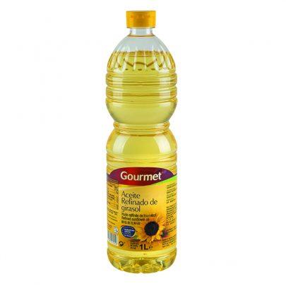 Aceite Girasol Refinado 1L 0.2º Gourmet