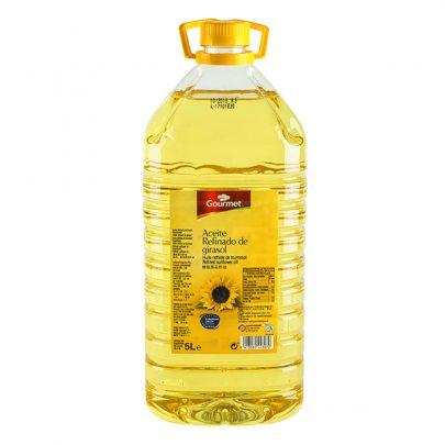 Aceite Girasol Refinado 5L 0.2º Gourmet