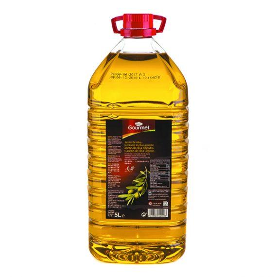 Aceite de Oliva Suave 0.4º 5L Gourmet