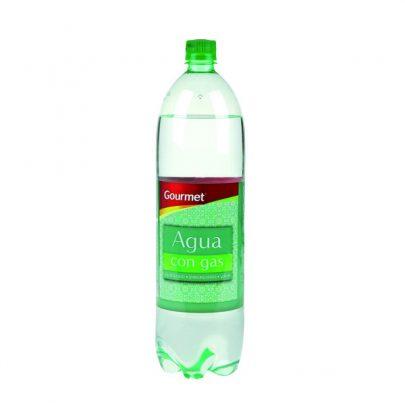 Agua con Gas 1.5L Gourmet