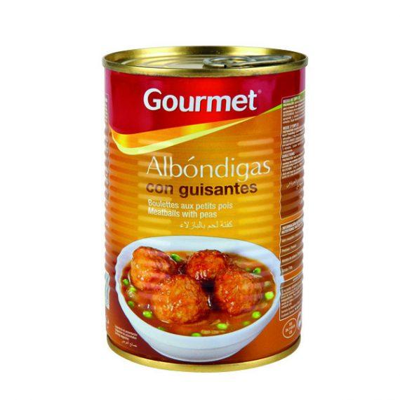 Albóndigas con guisantes Gourmet