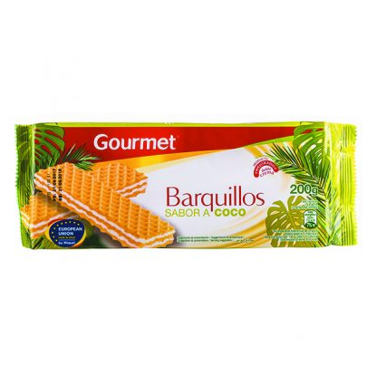 Barquillos Coco 200g Gourmet