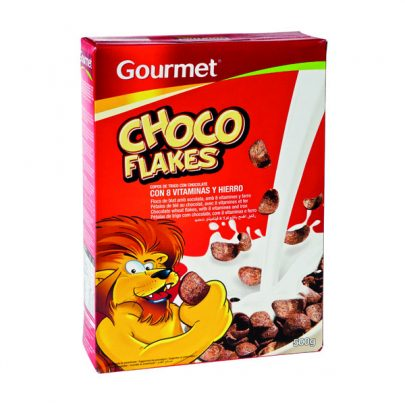 Cereales Choco Flakes 500g Gourmet