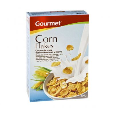 Cereales Corn Flakes 500g Gourmet