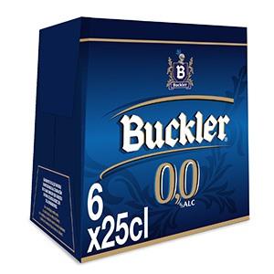 Cerveza Botella Buckler 0.0 Pack 6 25cl