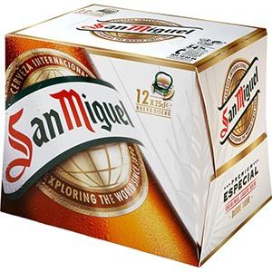 Cerveza Botella San Miguel pack 12