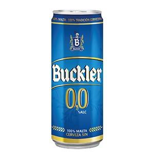 Cerveza Lata Buckler 0.0