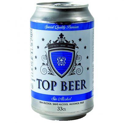 Cerveza Lata Sin 5º 33cl Top Beer