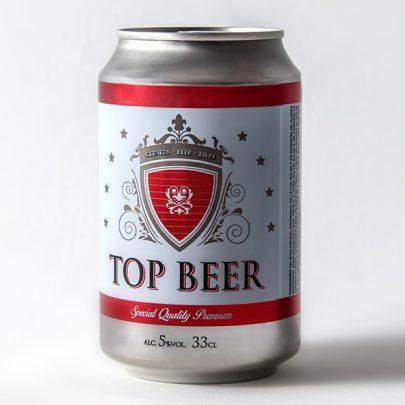 Cerveza Lata 5º 33cl Top Beer