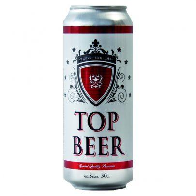 Cerveza Lata Top Beer 50cl