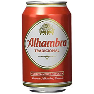 Cerveza lata Alhambra Original 33cl