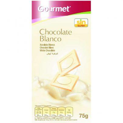 Chocolate Blanco 75g Gourmet