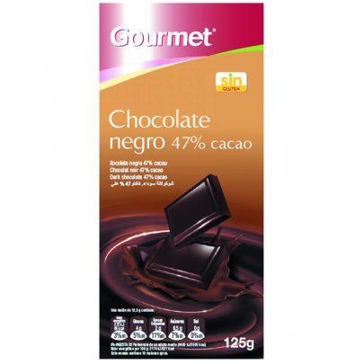 Chocolate negro 47% 125g Gourmet