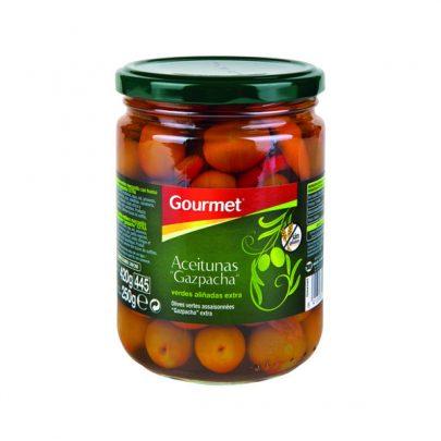 Conserva Aceitunas Gazpacha 250g Gourmet