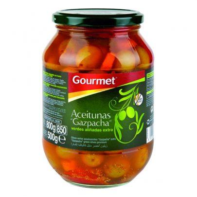 Conserva Aceitunas Gazpacha 500g Gourmet