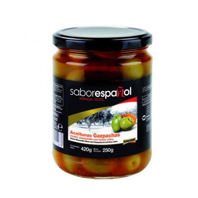 Conserva Aceitunas Gazpachas 250g Saborespañol