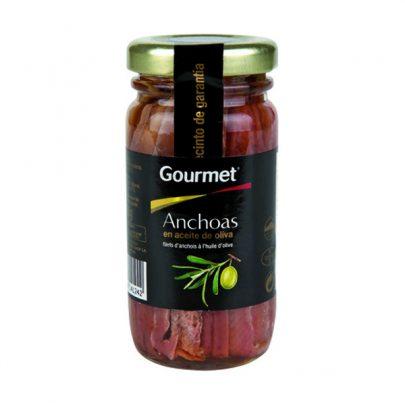 Conserva Anchoas Bote Aceite de Oliva 60G Gourmet