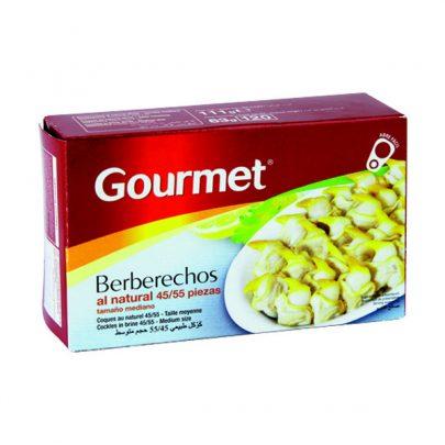 Conserva Berberechos al natural 45-55 Gourmet