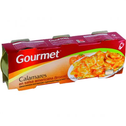 Conserva Calamares trozos salsa americana Gourmet