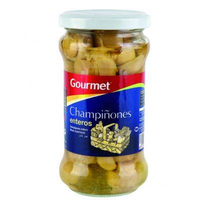 Conserva Champiñones entero Bote 160G Gourmet