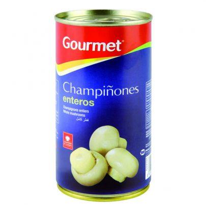 Conserva Champiñones enteros 105G Gourmet