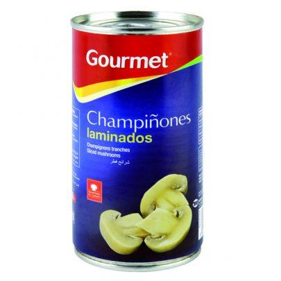 Conserva Champiñones laminados 185G Gourmet