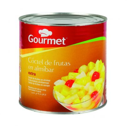 Conserva Cóctel Frutas g Gourmet