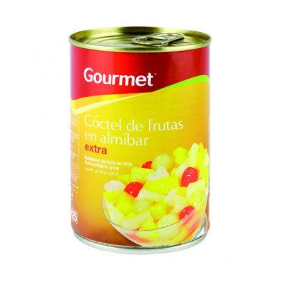 Conserva Cóctel Frutas p Gourmet