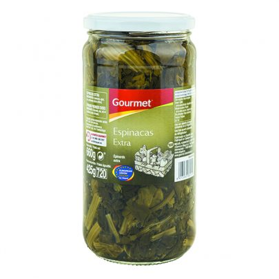 Conserva Espinacas extra Bote Gourmet