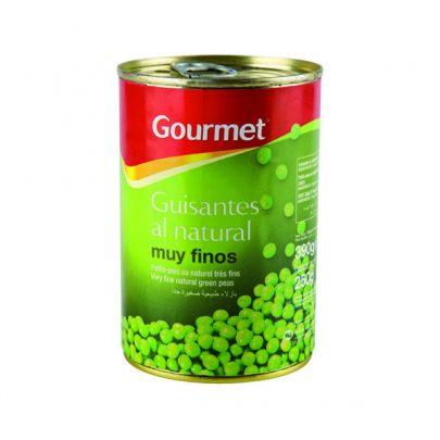 Conserva Guisantes al natural muy finos Gourmet