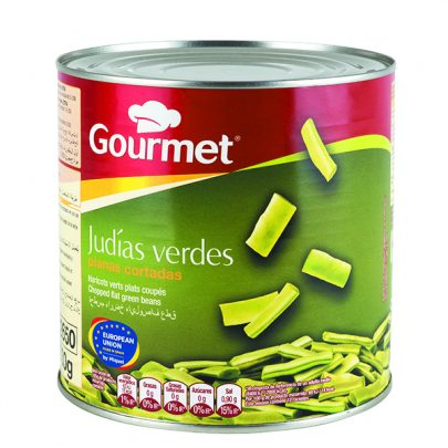 Conserva Judías Verdes planas cortadas Gourmet