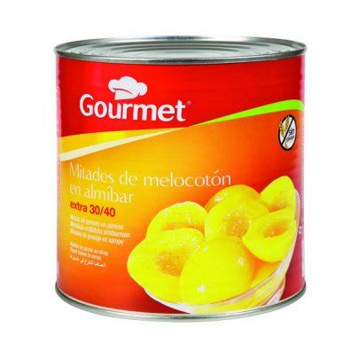 Conserva Melocotón almíbar Mitades G Gourmet