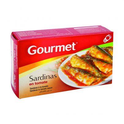 Conserva Sardinas tomate Gourmet