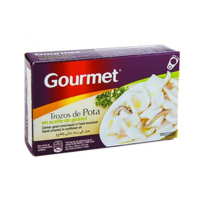 Conserva Trozo de Pota Gourmet