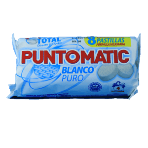 Puntomatic pastillas blanco