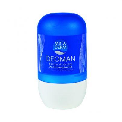 Roll-on DeoMan Anti-transpirante Micaderm
