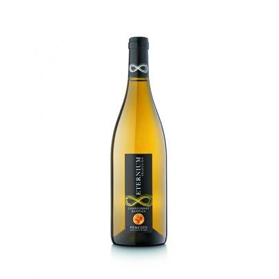 Vino Blanco Chardonnay Barrica Eternium Selección