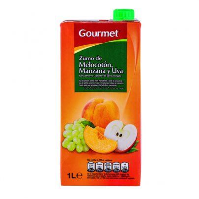 Zumo Melocotón Manzana y Uva Gourmet