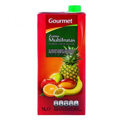 Zumo Brick Multifrutas Gourmet