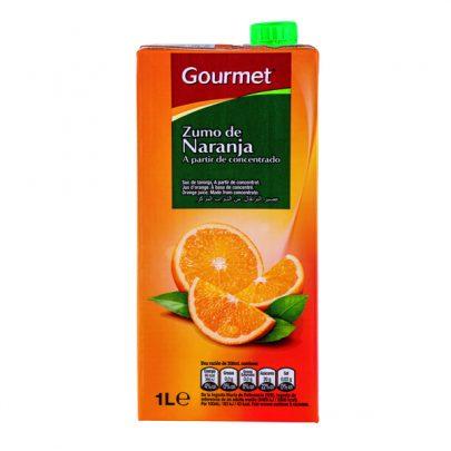 Zumo Brick Naranja 1L Gourmet