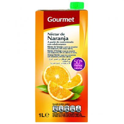 Zumo Brick Néctar Naranja Gourmet