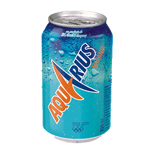 Aquarius lata naranja 33cl