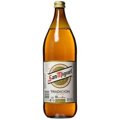 Cerveza san miguel 1L