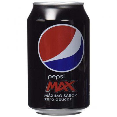 Pepsi max zero lata