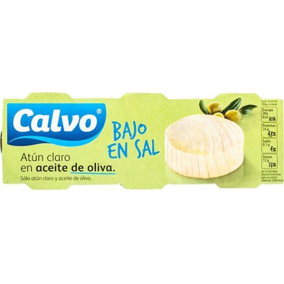 Atún Calvo A.Oliva Bajo en Sal