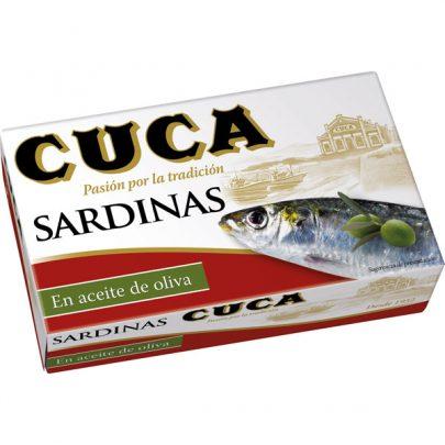 Sardinas Cuca Aceite Oliva