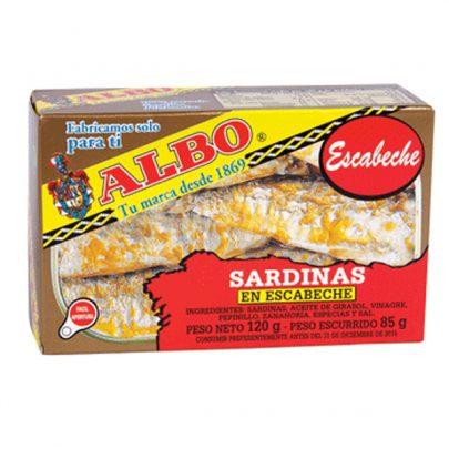 Sardinas en Escabeche Albo
